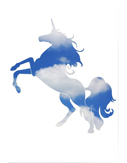Unicorn, Dream, Cloud, Sky, Magic, Fantasy, Fairytale