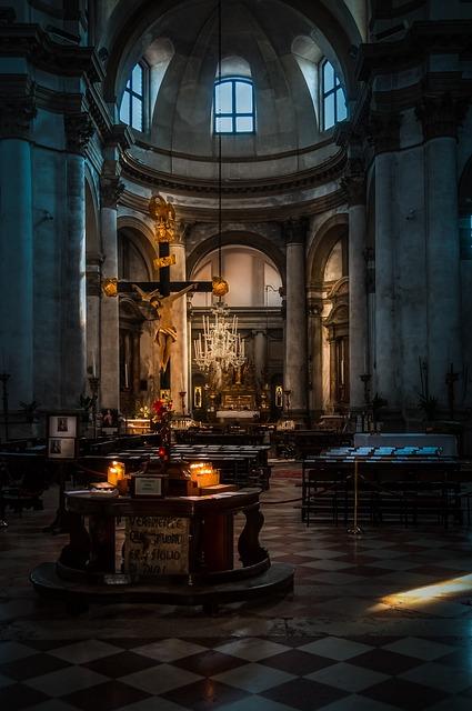 Church, Light, Candles, Hope, Prayer, Faith