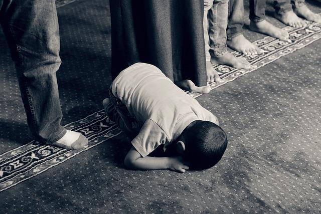 Kid, Praying, Muslim, Islam, Faith, Religious, Prayer