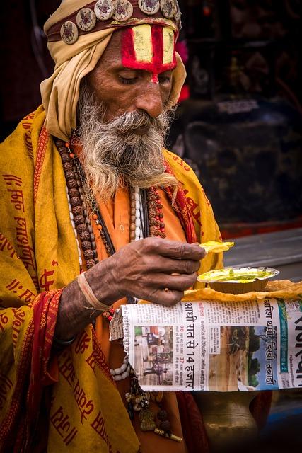 Indians, Portrait, Man, Human, Religion, Faith