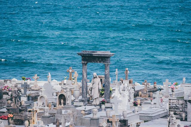 Cemetery, Catholic, Faith, Religion, Live, Die, Stone