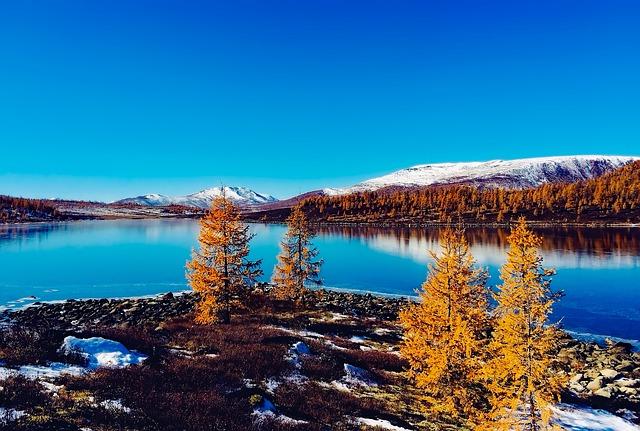 Russia, Landscape, Scenic, River, Lake, Water, Fall