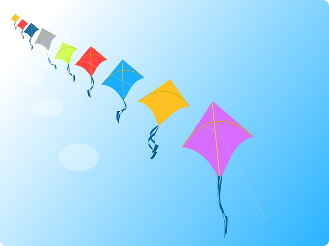 Kites, Flying, Autumn, Fall, Wind, Playing, Toy