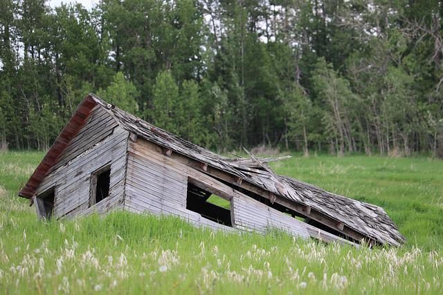 Dilapidated Building, Fallen Down, Old, Structure, Ruin