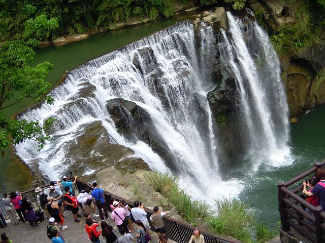Waterfall, Falls, Keelung, Taipei
