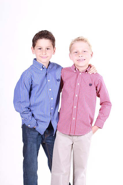 Boys, Brothers, Family, Child, Cute, Portrait, People