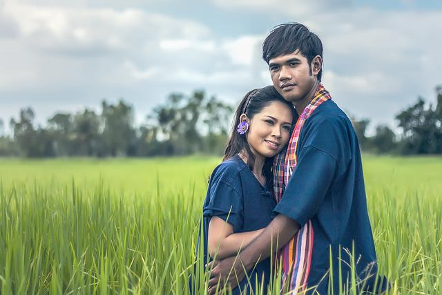 Pair, Family, Asia, Huging, Pretty, Beauty, Cambodia