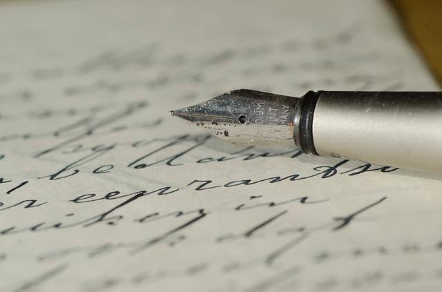 Fountain Pen, Letter, Handwriting, Family Letters