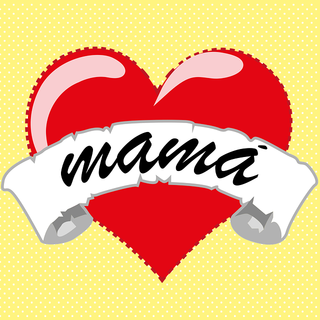 Mama, Heart, Love, Mother, Family, Feeling, Sign