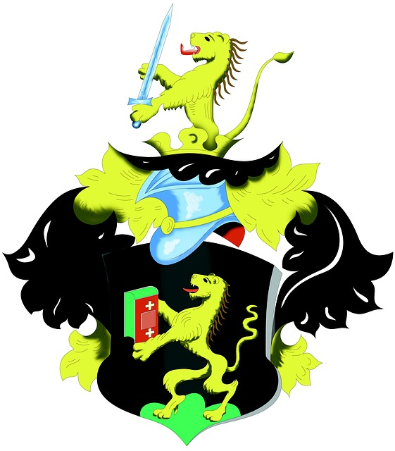 Coat Of Arms, Old, Family Sign 1649