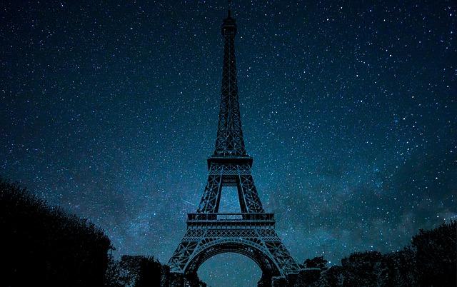 Eiffel Tower, Monument, Paris, France, Famous