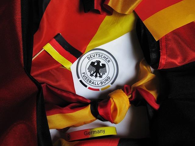 Football Europameisterschaft, Germany Flag, Fanartikel