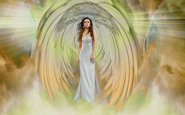 Angel, Woman, Creative, Fantasy, Light, Heaven