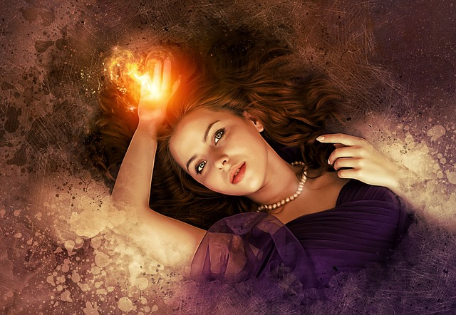 Portrait, Fantasy, Woman, Girl, Beauty, Female, Magic