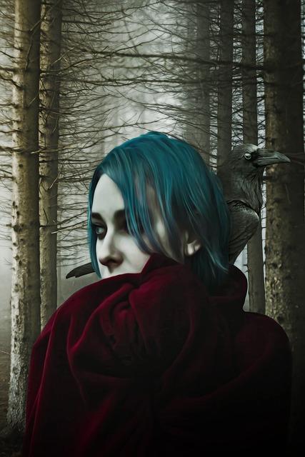 Gothic, Dark, Fantasy, Gothic Girl, Woman, Female