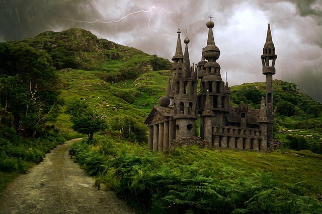 Fantasy, Landscape, Fantasy Landscape, Castle