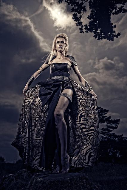 Warrior, Fashion, Fantasy, Dress, Sky, Woman, Fierce