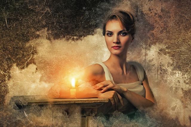 Gothic, Fantasy, Dark, Medium, Portrait, Woman, Female