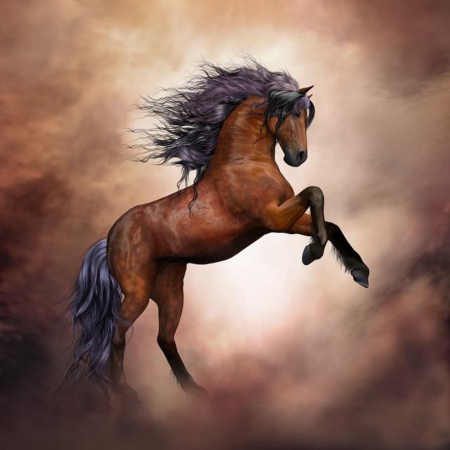 Horse, Wild Horse, Fantasy, Composing, Animal, Wild