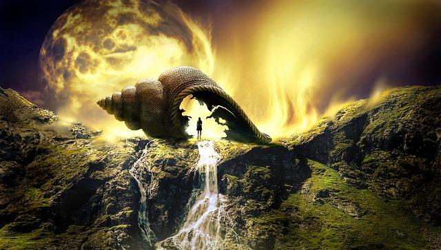 Fantasy, Landscape, Mystical, Light, Fairytale