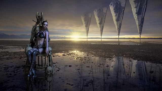 Fantasy, Landscape, Mystical, Composing, Photomontage