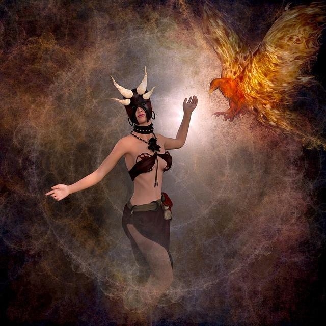 Cd Cover, Fantasy, Mystical, Composing, Photo Montage