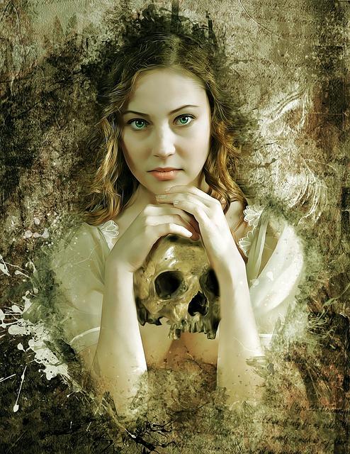 Gothic, Dark, Fantasy, Portrait, Fantasy Portrait