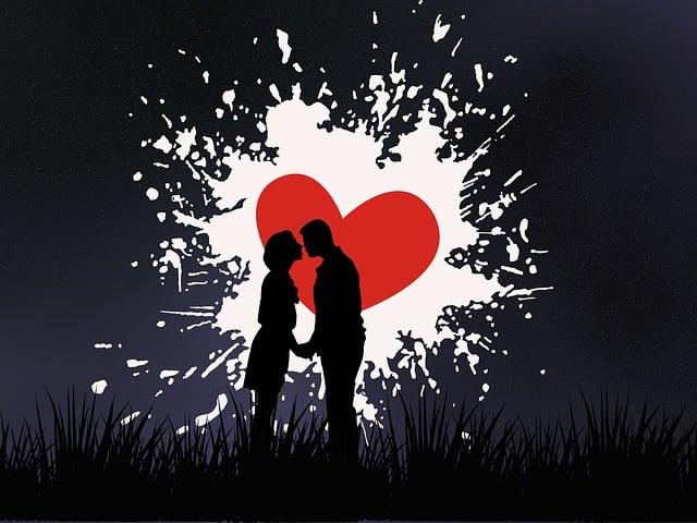 Love, Heart, Fantasy, Silhouette, Couple, Symbol