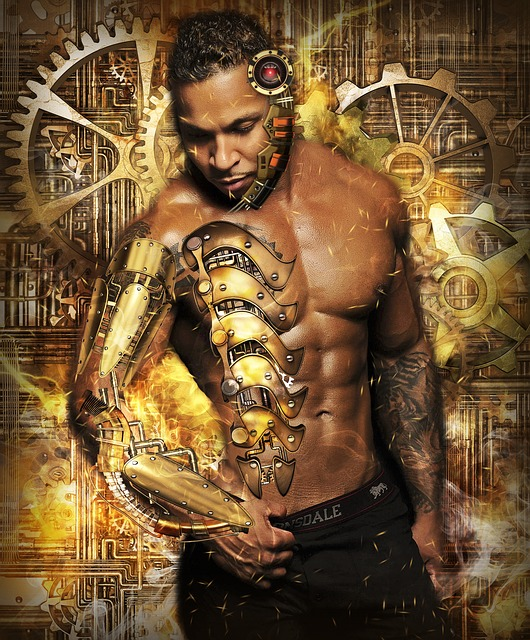 Steampunk, Man, Male, Person, Fantasy, Futuristic