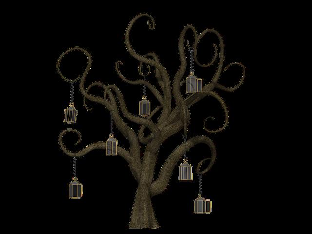 Tree, Fantasy, Fairy Tales, Leafless, Mystical