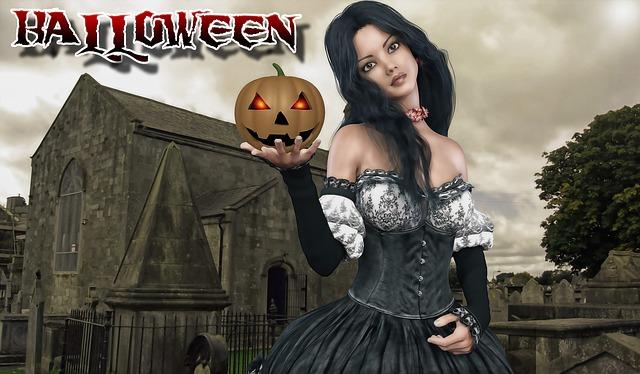 Halloween, Female, Woman, Fantasy Woman, Girl
