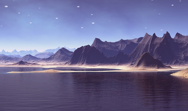 Fantasy World, Voyager, Virtual Landscape, Model