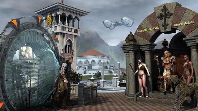 Atlantis, Cheeta, Farao