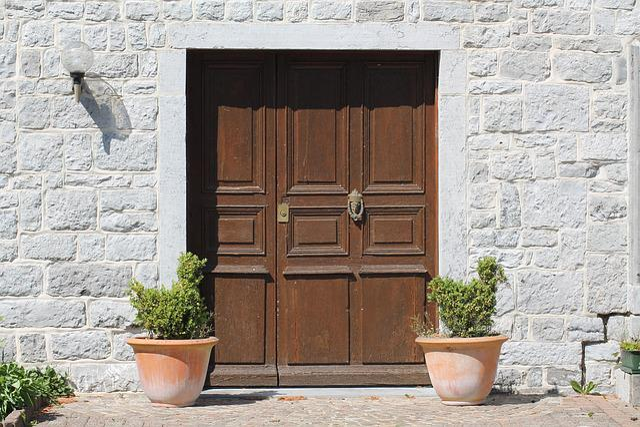 Door, Farm, Architecture, Entry