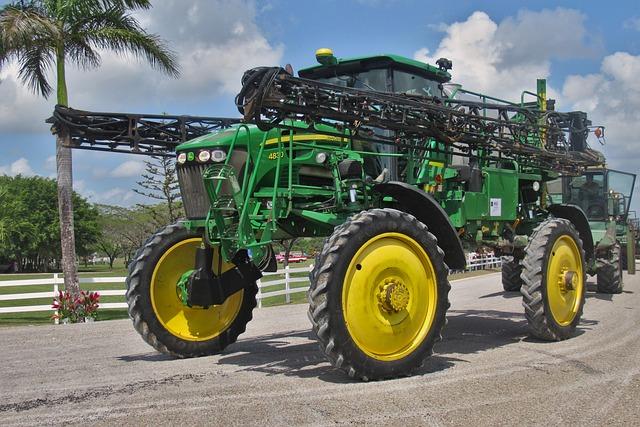 Sprayer, John Deere, Herbicide, Farm, Rural