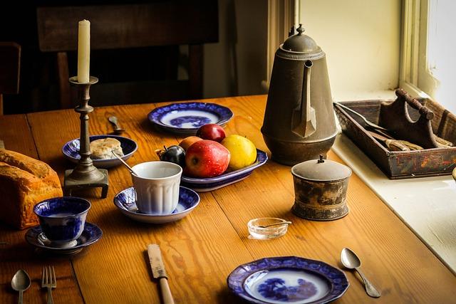 Still Life, Food, Dinner, Table, Farm Kitchen