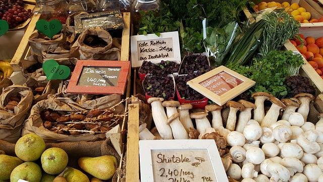 Farmers Local Market, Vegetables, Market Stall, Bio