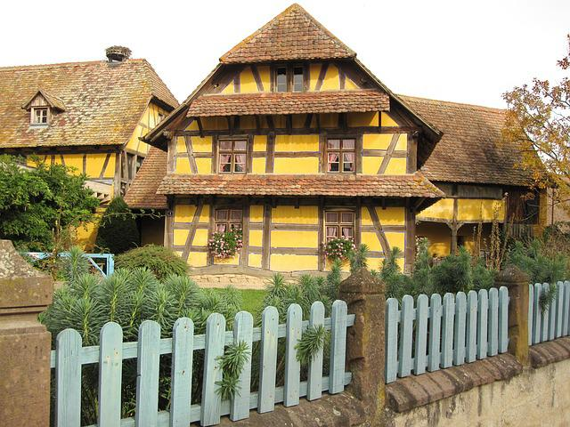 Fachwerkhaus, Farmhouse, Country House, Farm, Building