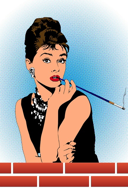 Audrey, Woman, Fashion, Beautiful, Young, Fascination