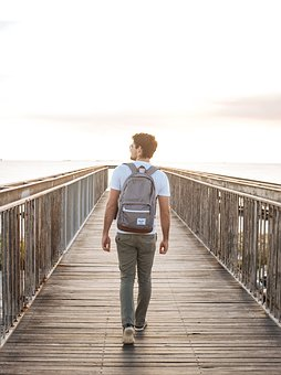 Adult, Boardwalk, Bridge, Dock, Fashion, Leisure