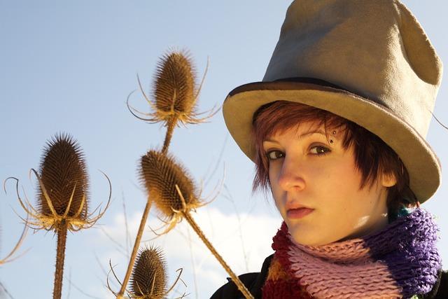 Waif, Hat, Portrait, Fashion, Cool, Face