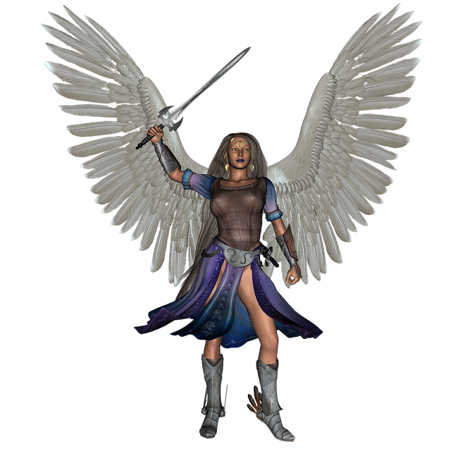 Angel, Fantasy, Warrior, Wings, Model, Fashion, Wing