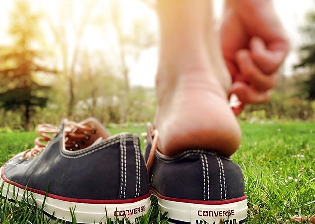 Shoes, Chucks, Converse, Hipster, Fashion, Wearing