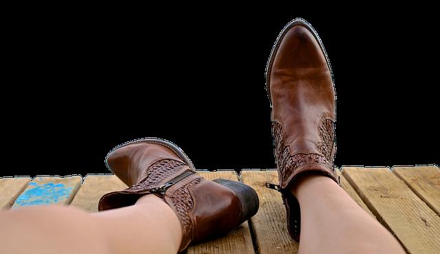 Boots, Shoe, Leather, Fashion, Foot, Footwear, Legs