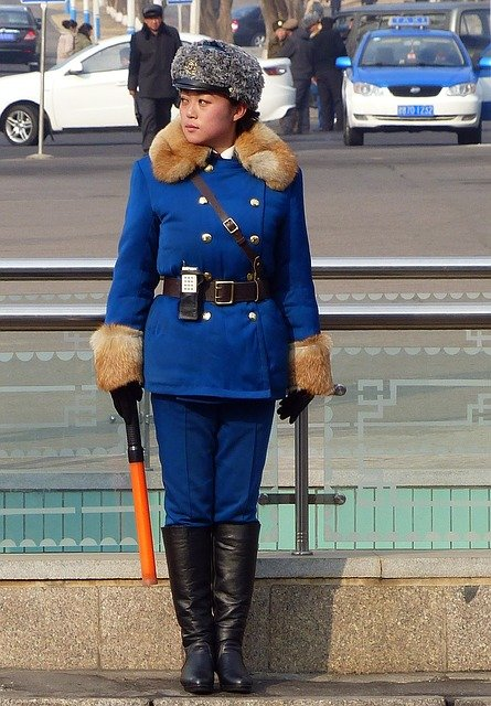 Portrait, Adult, Clothing, Human, Fashion, North Korea