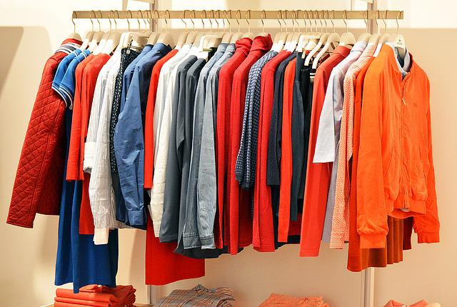 Store, Clothes, Clothing, Line, Fashion, Retail