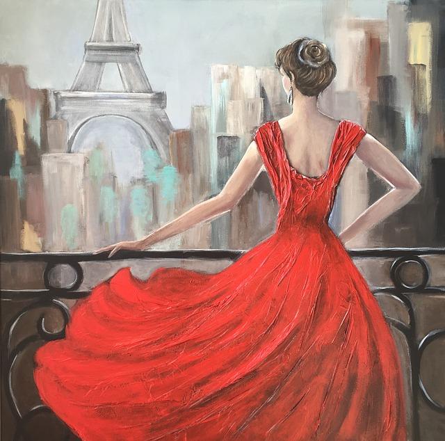 Dress, Fashion, Woman, Model, Clothing, Fashionable