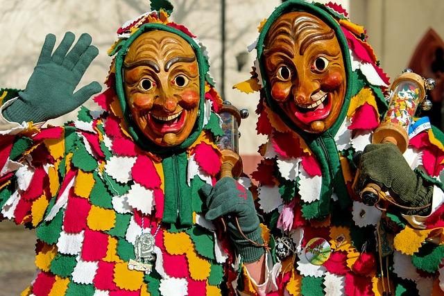 Carnival, Fasnet, Swabian Alemannic, Wooden Mask