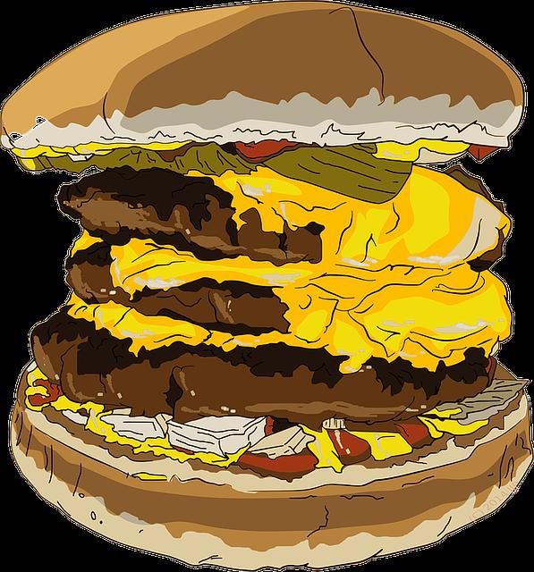 Burger, Cheeseburger, Fast Food, Hamburger, Munchies