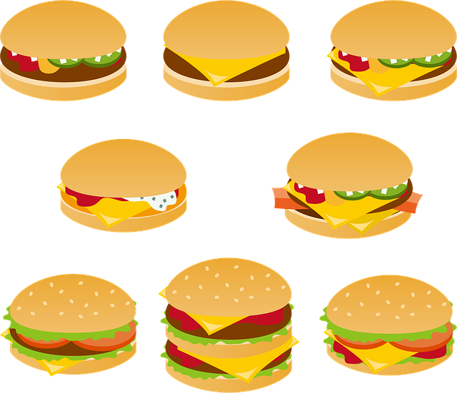 Hamburger, Fast Food, Cheeseburger, Meat, Delicious